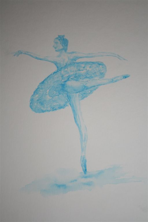 Danseuse aquarelle